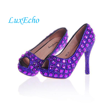 new arrival open toe gold rhinestone platform shoes white wedding shoes princess bridal plus size shoes free shipping