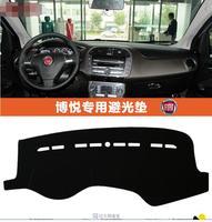 dashmat carpet Car dashboard covers Instrument platform pad for fiat bravo 2008 2009 2011
