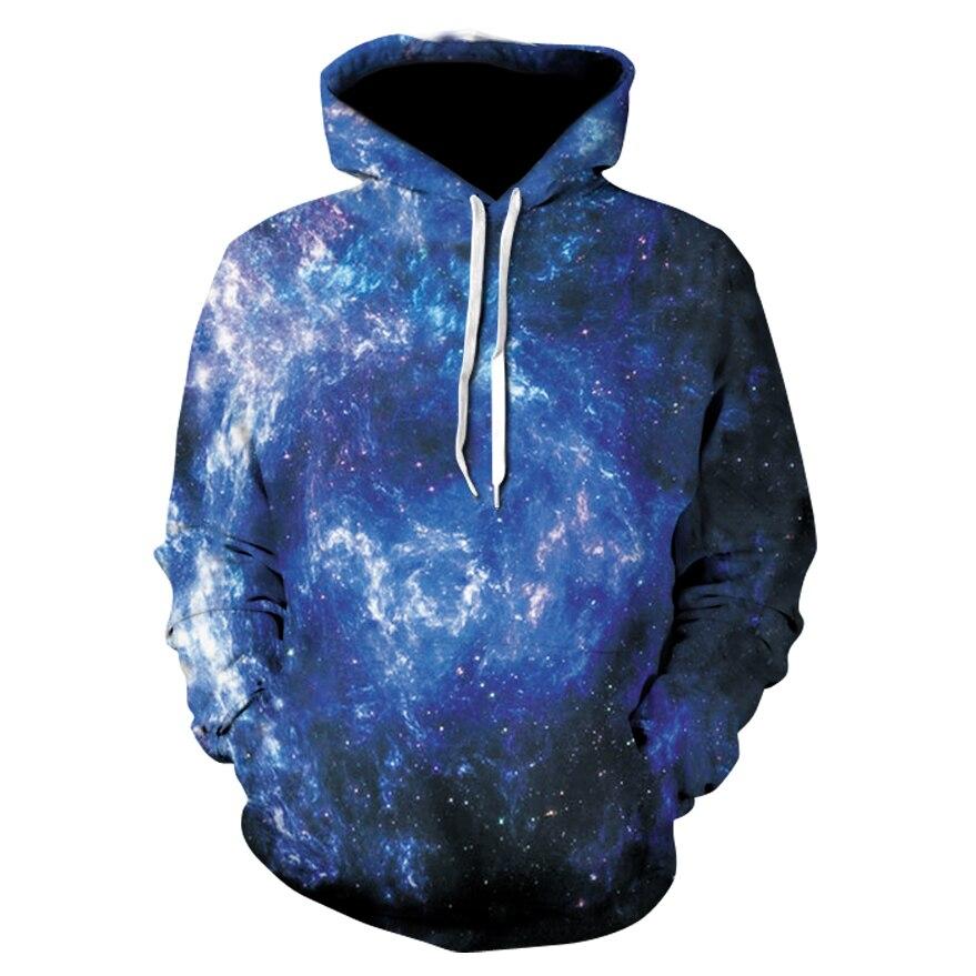 Space Galaxy Hoodies Men/Women Sweatshirt Hooded 3d Brand Clothing Cap Hoody Print Paisley Nebula Jacket 2