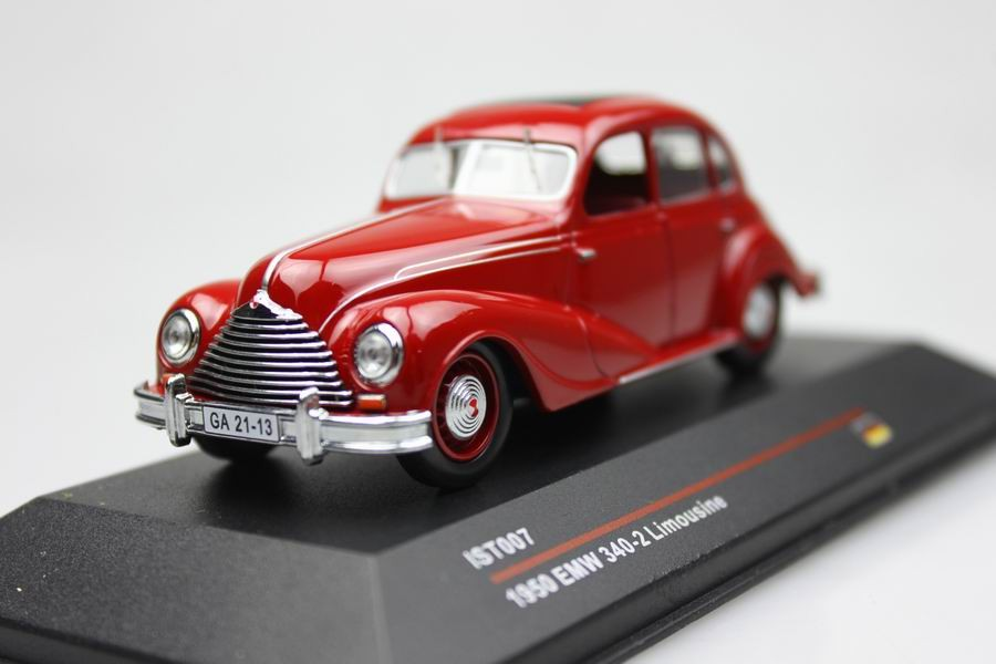 IST007 1:43 1950 EMW 340 2 Limousine Alloy car model vintage cars ...