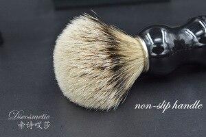 Image 4 - Silvertip włosia borsuka pędzel do golenia ręcznie robiony pędzel do golenia zestaw do pielęgnacji męskiej