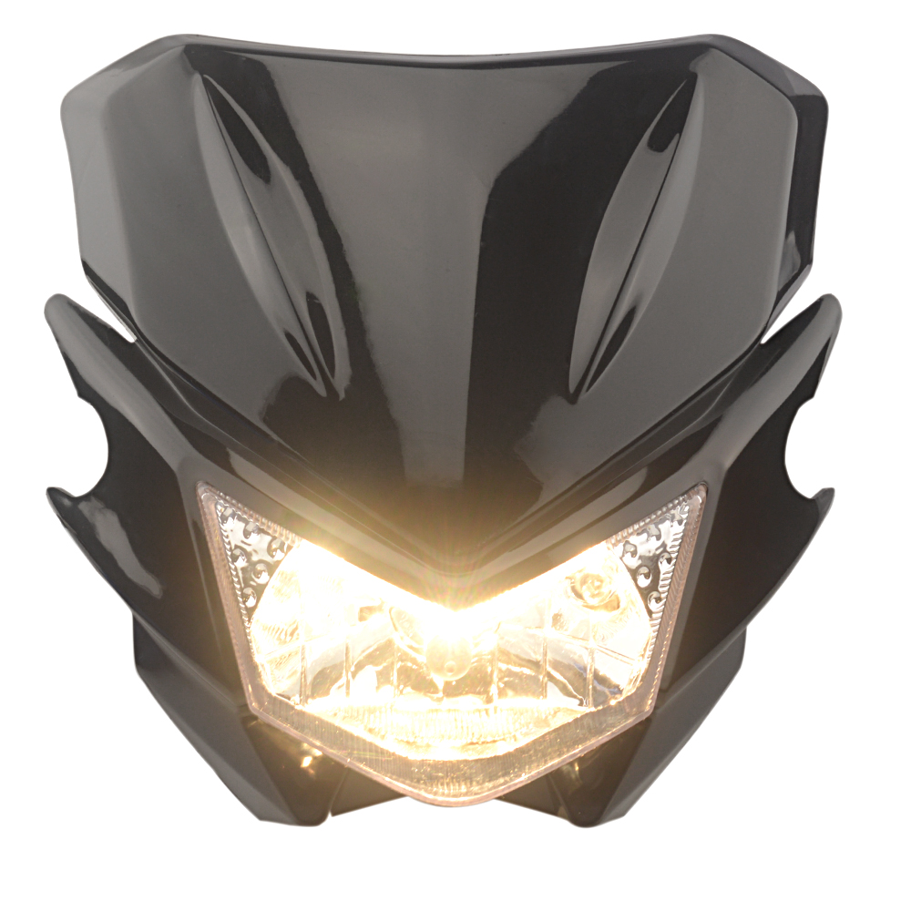 12V 35W <font><b>Universal</b></font> <font><b>Headlight</b></font> Headlamp Fairing kit For KAWASAKI YAMAHA SUZUKI HONDA KTM <font><b>Dirt</b></font> <font><b>Bike</b></font> Motorcycle image