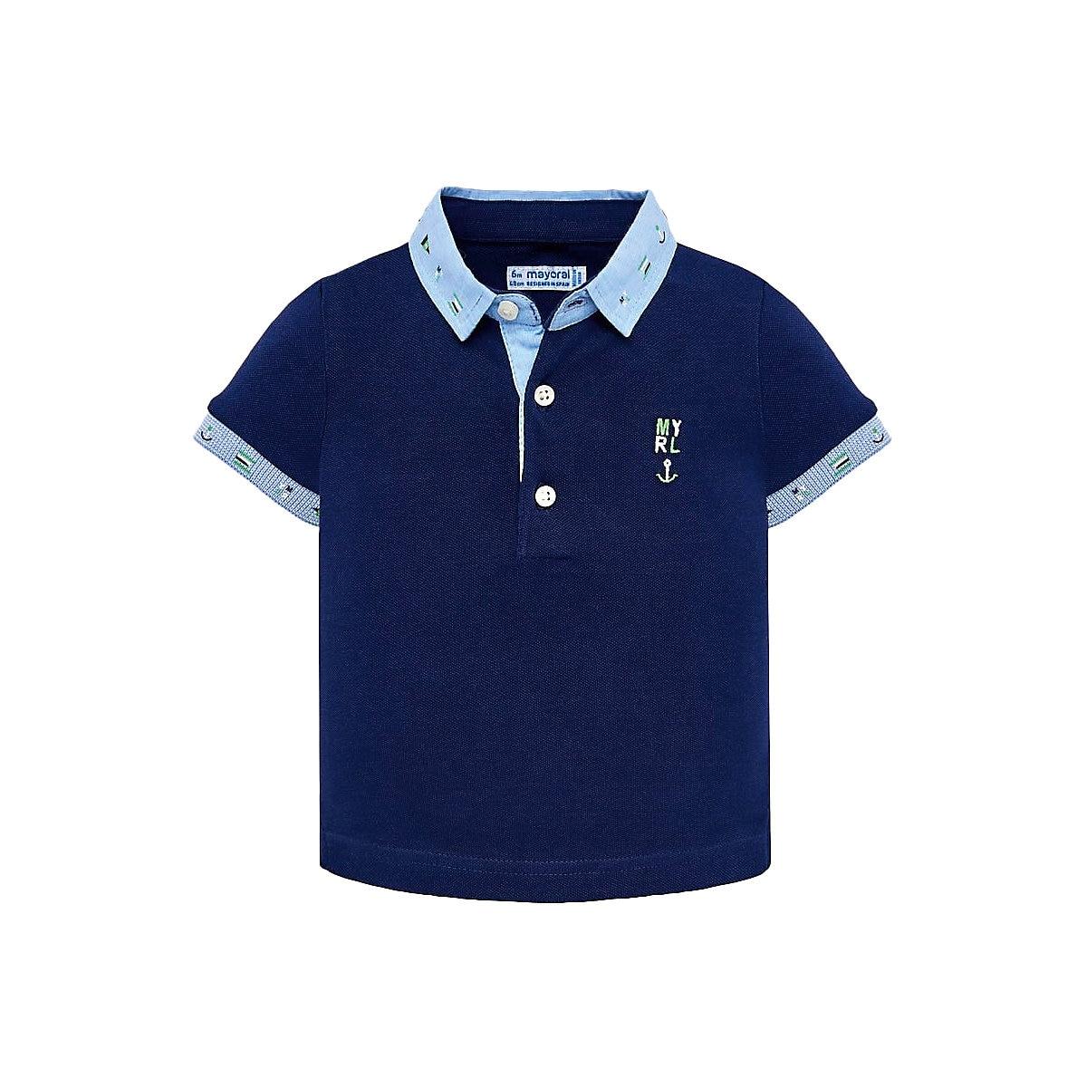 MAYORAL Polo Shirts 10693193 children clothing t-shirt shirt the print for boys