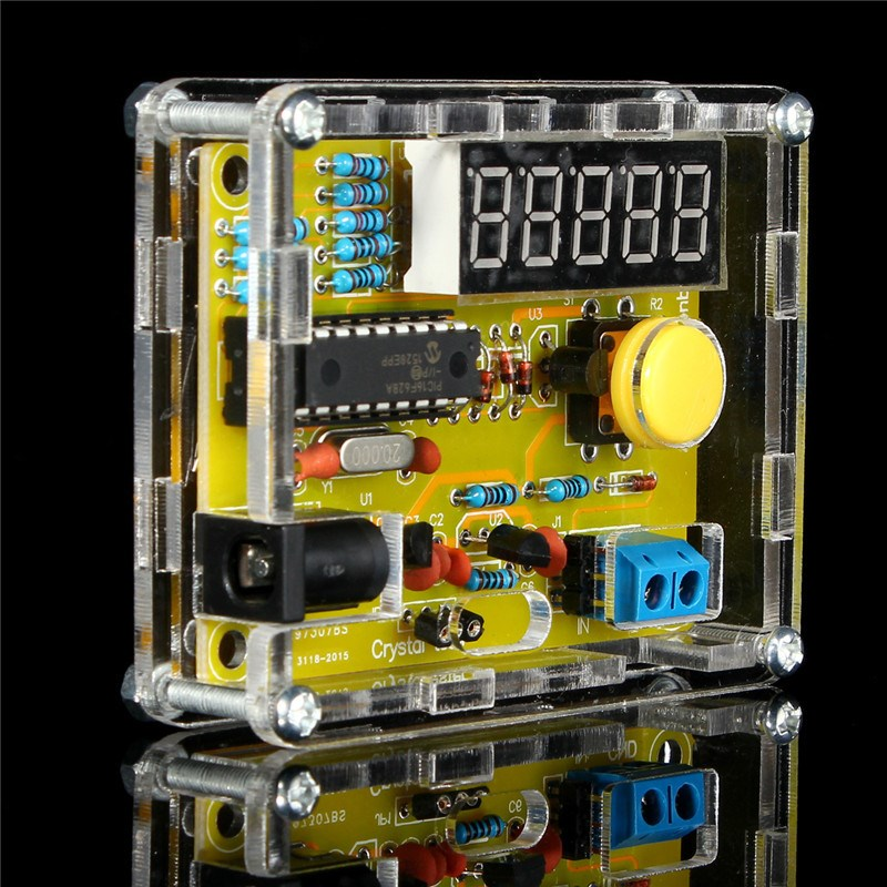 Frequency Counter Kit : Diy kits hz mhz crystal oscillator tester frequency