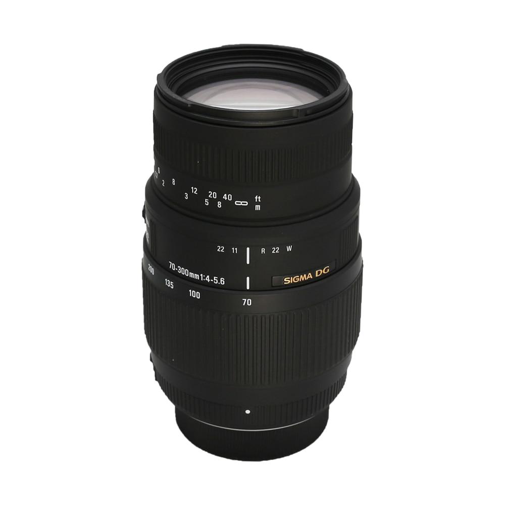Sigma 70 300 Lens for Nikon 70 300 mm f 4 5 6 DG Autofocus Lens