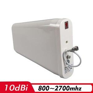Image 3 - 2G 3G 4G tri band wzmacniacz sygnału CDMA 850 + DCS/LTE 1800 + WCDMA/UMTS 2100 wzmacniacz sygnału telefonii komórkowej wzmacniacz komórkowy antena zestaw