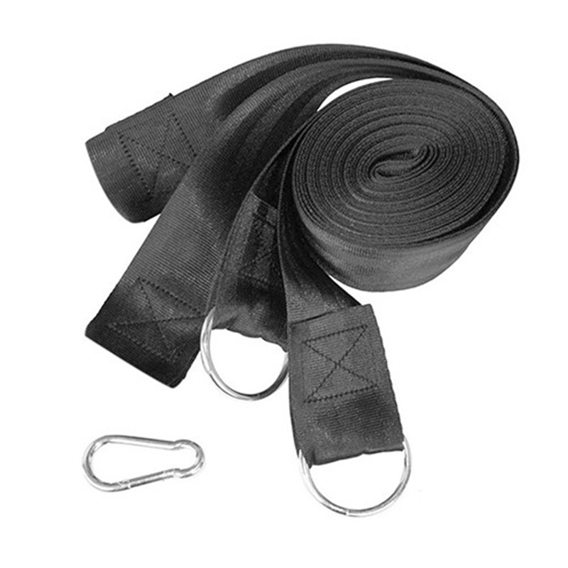 Hammock Hanging Belt Tree Strap Nylon Rope Outdoor Camping Tool with Buckles OutDoor Camping Hiking Hammock Hanging Belt 2 people portable parachute hammock outdoor survival camping hammocks garden leisure travel double hanging swing 2 6m 1 4m 3m 2m