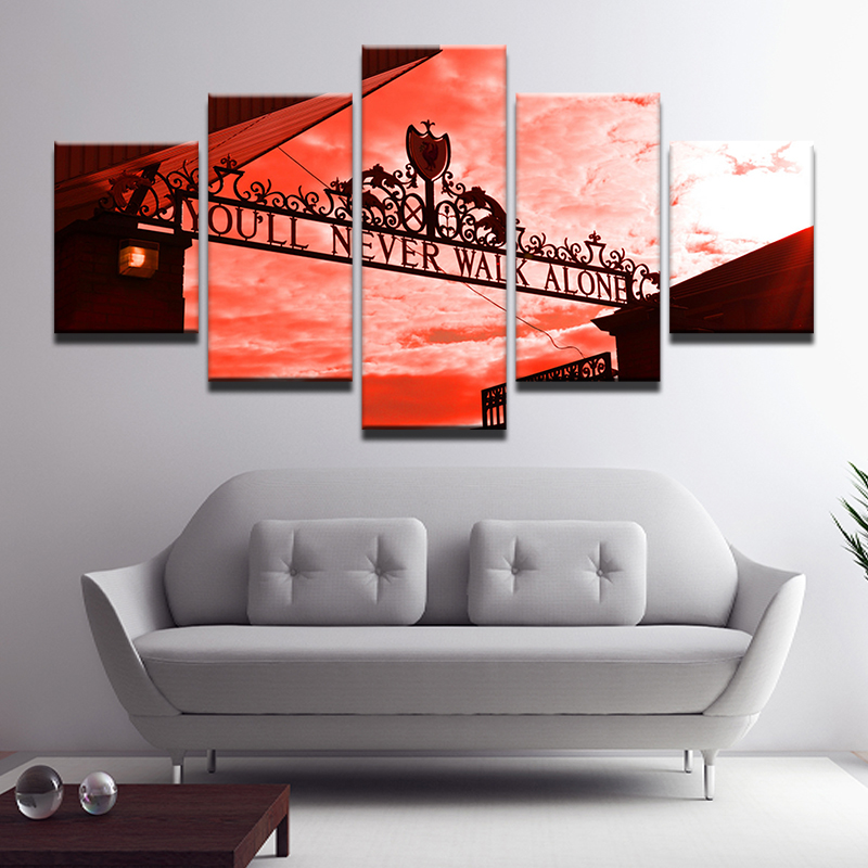 Canvas Painting Alone Poster-You Modular Pictures Home-Decor Wall-Art Movie Prints Living-Room