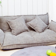 Sofa-Bed Couch-Back Lazy-Sofa Foldable Floor Position Japanese-Style Gaming Modern