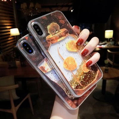 Cases For Huawei Honor10 Luxury Dynamic Liquid Glitter Soft Case On Phone Case For Huawei V10 P20 Pro P10 Nove2s 3E P20 Lite