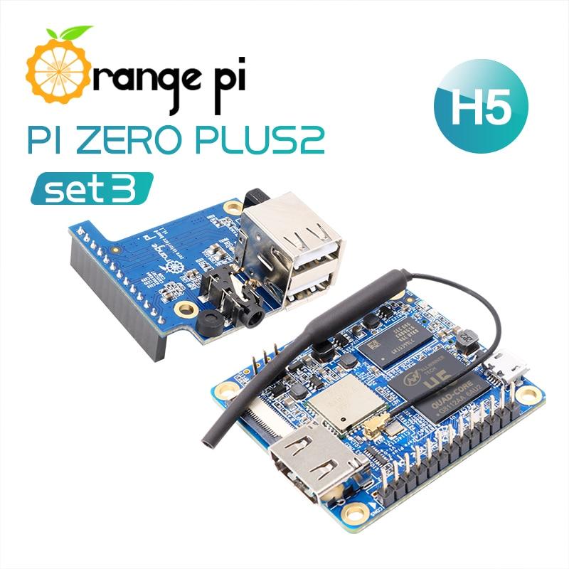 Sporting Orange Pi Zero Plus 2 H5 Set 3: Opi Zero Plus 2 H5 +expansion Board , A Development Board Beyond Raspberry Pi Agreeable To Taste