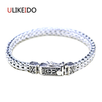 100% Pure 925 Sterling Silver Anchor Bracelets Fashion Classic Hand Chain For Men Special Insert Buck Jewelry Charm Bracelet 327