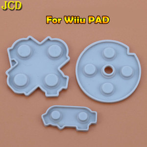 Image 3 - JCD 1 セット Nintend Wii/WIIU パッド/WII プロスーパーファミコン SFC/ファミコン PC コンソール導電性ゴムシリコンパッドボタン