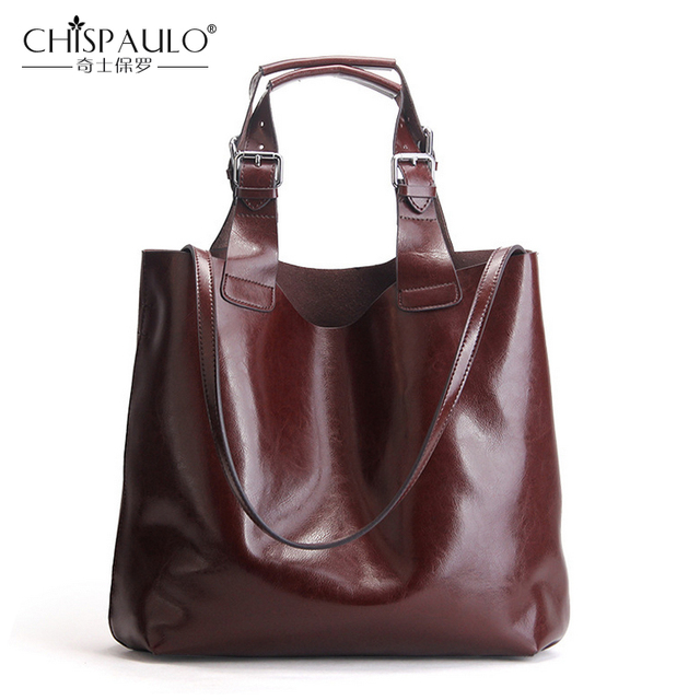 Genuine Leather Bag Luxury Handbags Women Bags Designer Very Large Shoulder Messenger High Quality