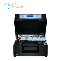 High Quality Mini Eco Solvent Printer A4 Size Flatbed Inkjet Print Machine For Phone Cover