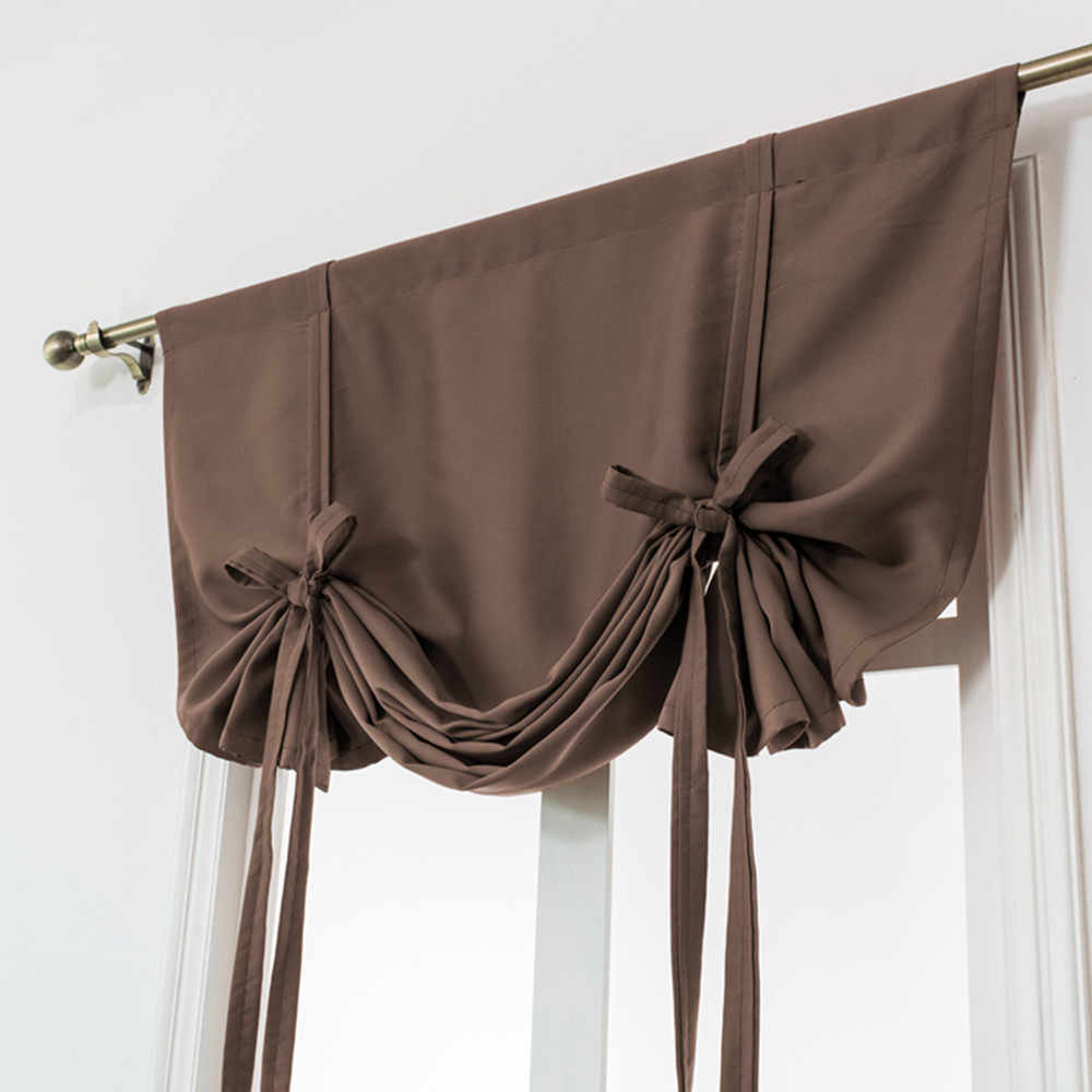 Thermal Insulated Blackout Curtain For Small Window Valance Balloon Blind Home Decorative Window Curtains Tie Up Roman Curtain 6 Aliexpress,Light Chocolate Brown Hair Color With Caramel Highlights