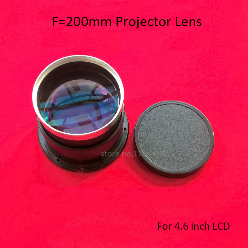 high definition F200 DIY projector glass lens for 5.2 inch projector/projection diy glass lens home cinema high definition f200 diy projector glass lens for 5 2 inch projector projection diy glass lens home cinema
