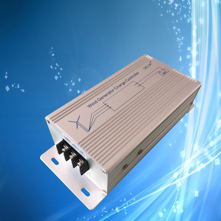 600W Wind Charge Controller with LED Indicator 12V 24V 48V Wind Controller Regulator Fit for 600W