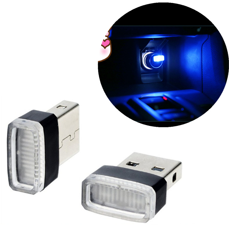 Car styling <font><b>USB</b></font> Decorative Lamp Lighting LED Atmosphere Lights for <font><b>Fiat</b></font> Panda Bravo Punto Linea Croma <font><b>500</b></font> 595 image