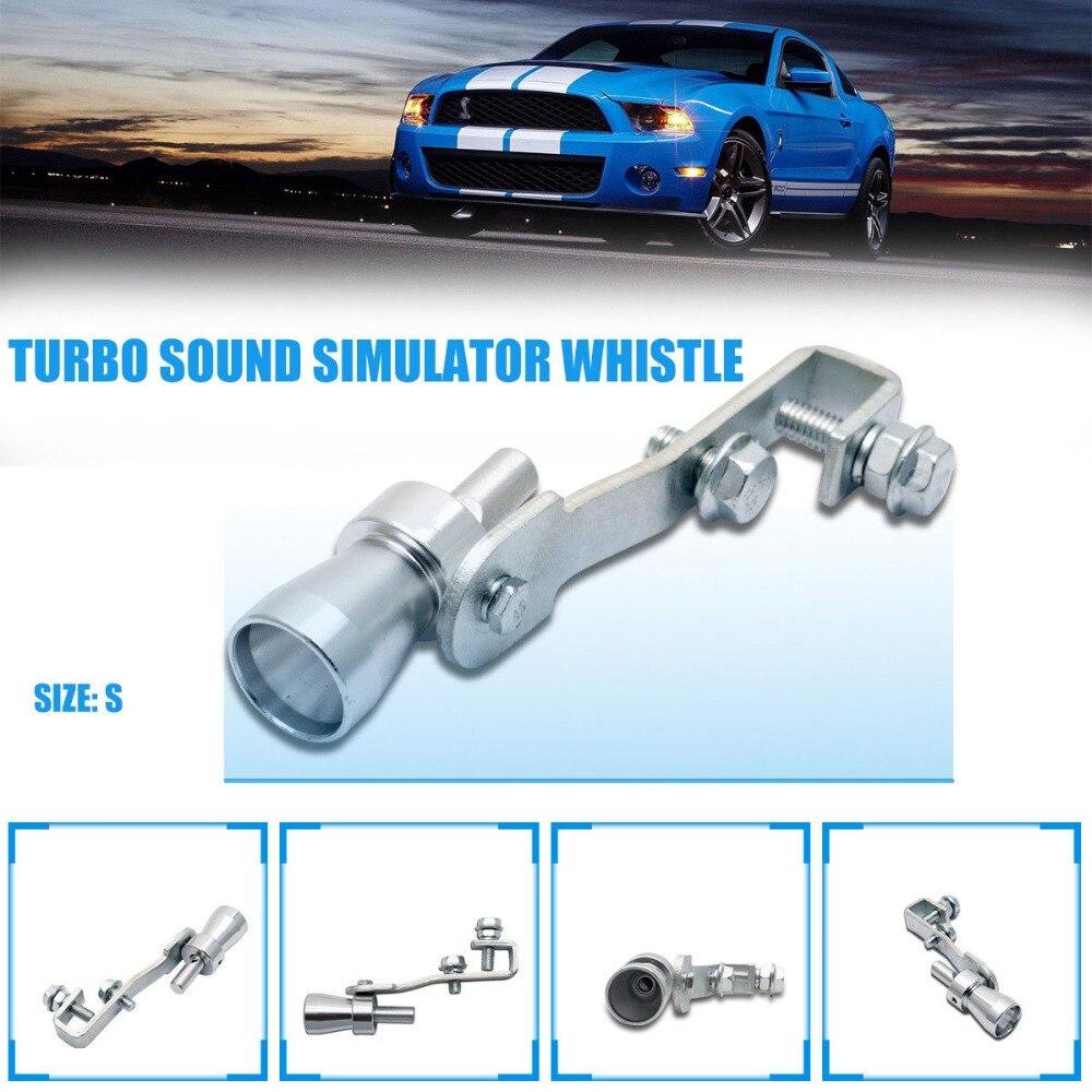 Car Turbo Sound Exhaust Whistler Whistle Muffler Dump Valve Simulator Taipipe