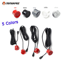 Light Heart Car Auto Led Parking Sensor Parktronic Display 4 Sensors Reverse Backup Assistance Radar Detector 5 Colors choice