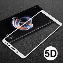 5D изогнутая Защитная пленка Стекло на для Xiaomi Redmi note 5 Pro(для Сяоми ксиоми Редми Ноут 5 про) полный гель закаленное Стекло Экран протектор на для Xiaomi Redmi note 5 глобальный 9H защитное стекло