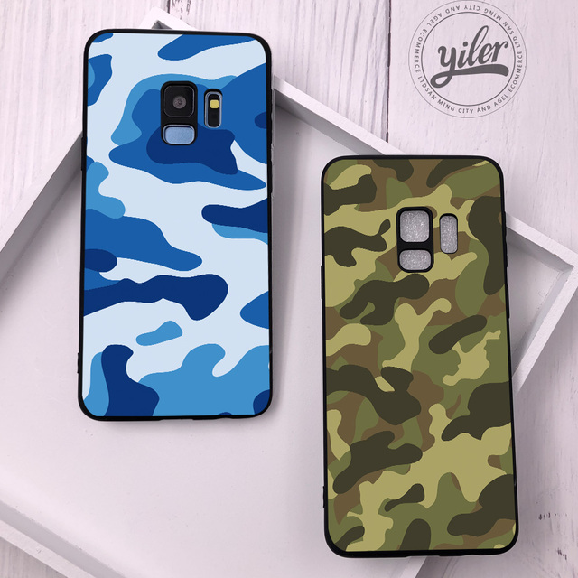 online store dffdf d86cf US $1.11 43% OFF|Camouflage Army for Samsung Galaxy S9 Plus Case for  Samsung S10 e Cases for Samsung S9 Case for Samsung S7 edge S8 S9 S10 Plus  -in ...