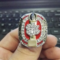 Wholesale 2013 Denver Broncos Super Bowl Zinc Alloy Silver Plated World Championship Ring With Fabric Boxes
