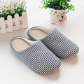 2017 new Japanese slipper women autumn and winter home slippers cotton slippers indoor home floor Walk quietly warm soft bottom