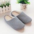 2017 nuevo Japonés zapatilla mujeres otoño y el invierno en casa zapatillas de algodón zapatillas de piso interior del hogar Caminar en silencio caliente inferior suave
