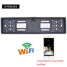 OTERLEEK WIFI Lizenz Platte Rückansicht Kamera Wifi Zurück Bis Kamera für ipad für iPhone Android und Auto GPS