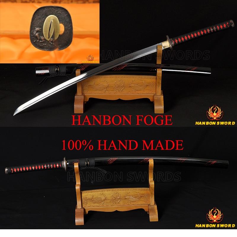 Real RAYSKIN brown samegawa tsuka handle Samurai Japanese samurai sword accessor