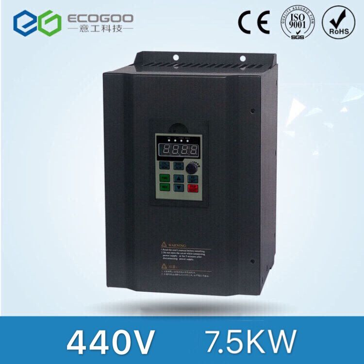 440V 7.5kw Three Phase Multi-Functional Frequency Converter for Air Compressor 440v 18 5kw three phase frequency inverter with high performance for air compressor