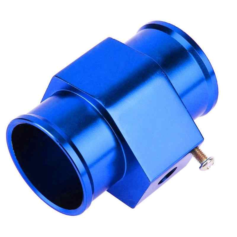 Biru Air Suhu TEMP SENSOR Gauge Pipa Bersama Radiator Selang Adaptor