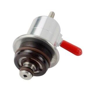 Image 2 - Régulateur de pression de carburant réglable en aluminium VR pour moteur VW Golf Jetta Passat Audi VAG régulateur de pression dinjection 3 5 bars