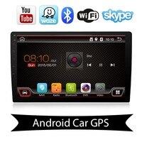 10,1 inch Android 8,1 автомобилей Радио 2 DIN Авторадио Стерео с Wi Fi Руль управления, поддержка DAB, OBD2, ТВ, 4G, DVR