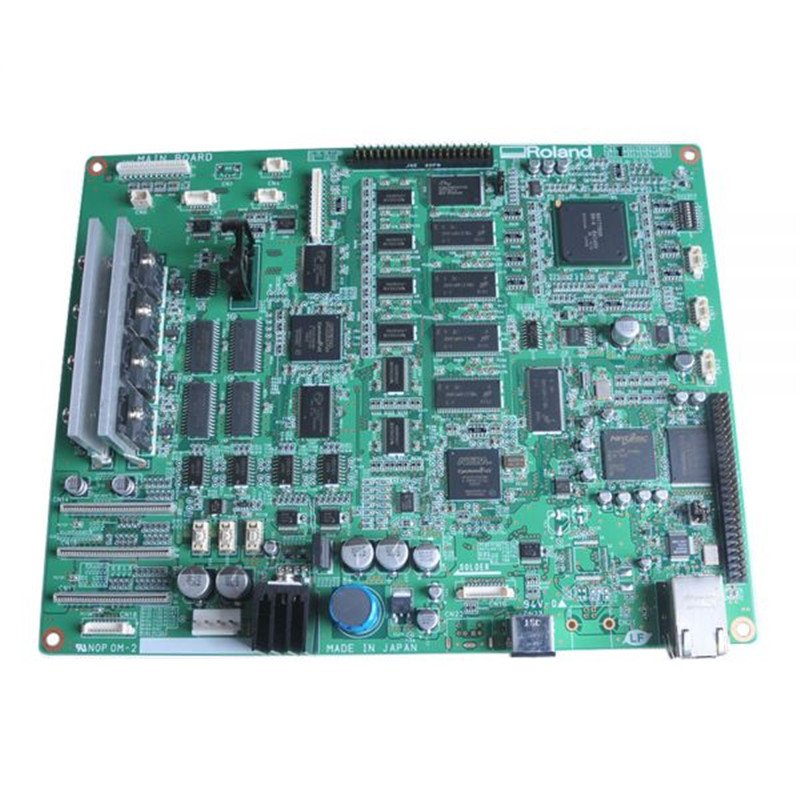 Original Roland VP-540 Mainboard 6700469010 roland vp 540 rs 640 vp 300 sheet rotary disk slit 360lpi printer parts