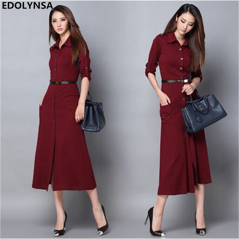 brand plus size xxl quality elegant casual party evening maxi long dress women work wear vintage. Black Bedroom Furniture Sets. Home Design Ideas