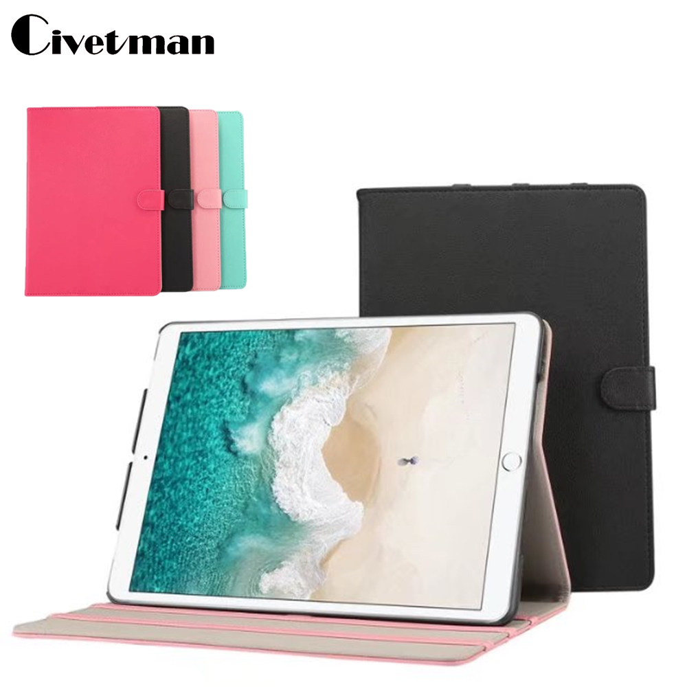 Civetman For Apple Ipad Pro 10.5 Case High Quality PU Leather Coque Flip Cover Tablet Bags Cases For ipad Pro 10.5 Smart Shell mimiatrend tige for apple ipad air 1 2 air2 flip pu leather case smart cover for new ipad 9 7 2017 tablet case for ipad pro 9 7