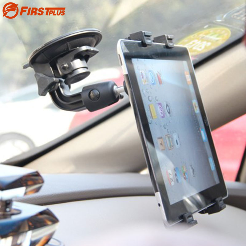 Car Suction Cup Mount Stand Tablet PC Holder For iPad Pro Samsung Galaxy Tab 4 3 10.1 8.0 Tab S2 Note 10.1 N8000 Tablet PC stylish pc tpu case w rotatable stand for samsung galaxy note 3 n9000 black