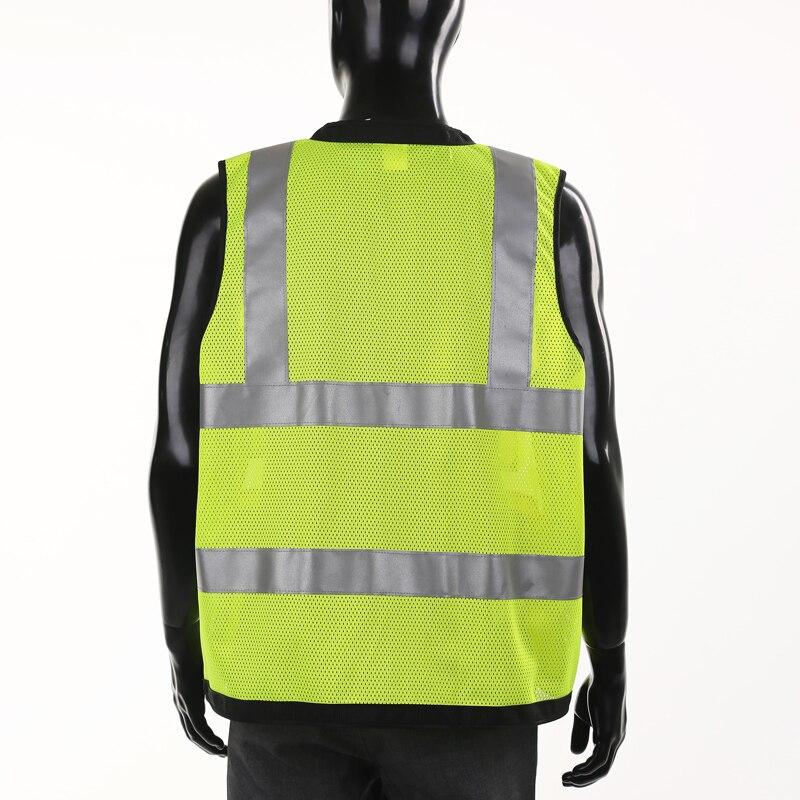 Reflective vest vest traffic safety vest reflective safety vest clothes printing sanitation