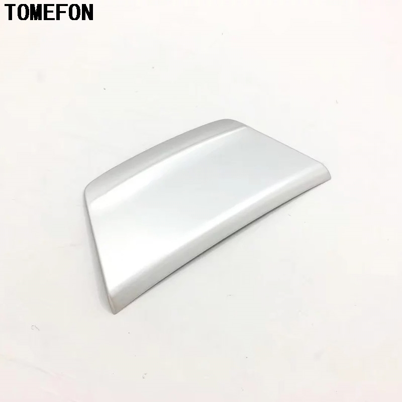 TOMEFON For <font><b>Honda</b></font> <font><b>Accord</b></font> 10th 2018 <font><b>2019</b></font> ABS Matte Carbon Style Front Middle Console Cigarette Lighter Cover Cap Interior Trim image