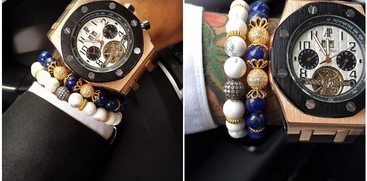 stone Beaded Bracelets