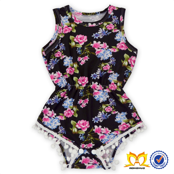 6f70b2c1883 Beautiful Baby Frock Designs For Baby Girls Bulk Wholesale Kids Clothing A  Variety Of Colors Pom Pom Romper