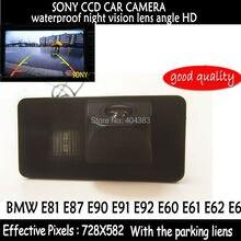 Sony CCD HD del coche del RearView reverso de la cámara del estacionamiento 170 degree gran angular para BMW E81 E87 E90 E91 E92 E60 E61 E62 E64 X5 X6