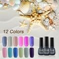 RS nail New sale 1pcs/5Ml 12 Colors shell nail glue Long-Lasting Nail Gel  Soak-off with LED Lamp