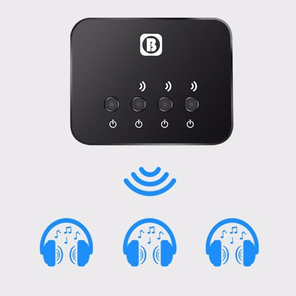 3-en-1 Bluetooth émetteur stéréo récepteur de musique Bluetooth 4.0 sans fil adaptateur Audio pour TV maison voiture stéréo système