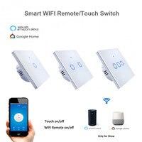 New Eruiklink EWelink APP WiFi Remote Smart Switch EU Type 1 2 3 Gang Wall Touch