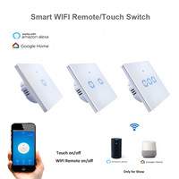 New Eruiklink EWelink APP WiFi Remote Smart Switch EU Type 1 2 3 Gang Wall Touch