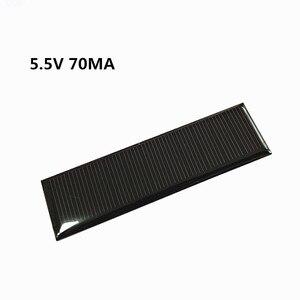 Image 1 - מיני מונו פנל סולארי 5V 70MA עבור DIY צעצוע/שמש דשא אור חיישן אורות/שמש פנס 5.5V